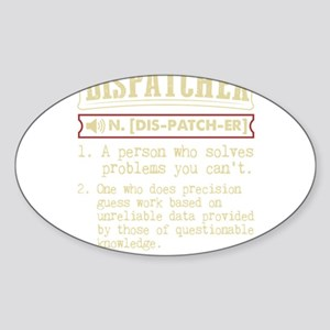 Dispatcher Funny Dictionary Term Sticker