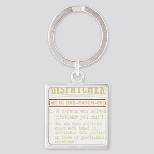 Dispatcher Funny Dictionary Term Keychains