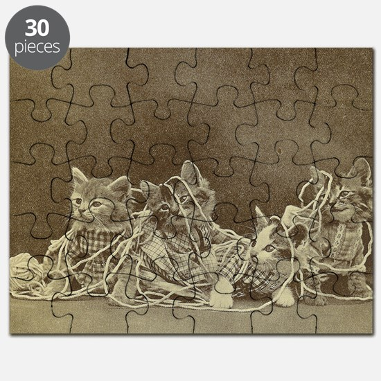 yarn kitties Puzzle