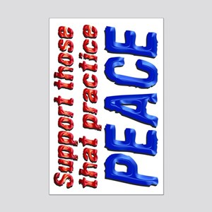 Supportpeace Mp Posters Mini Poster Print