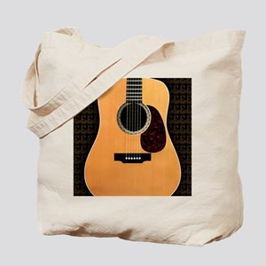 acoustic-guitar-framed panel print copy Tote Bag