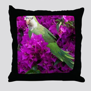 lucky bird Throw Pillow