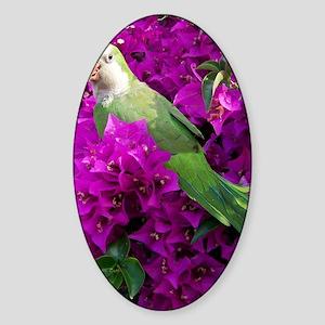 lucky bird Sticker (Oval)