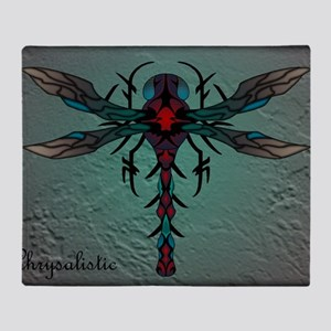 Waterstone Dragonfly panel Throw Blanket