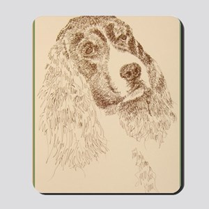English_Springer_Spaniel_Kline Mousepad