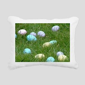 EasterEggNote Rectangular Canvas Pillow