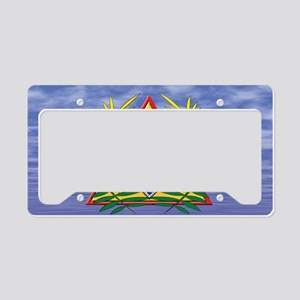 License Plate Sky pyramid cop License Plate Holder