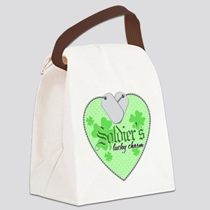 soldiers charm 2 Canvas Lunch Bag