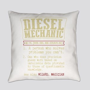 Diesel Mechanic Dictionary Term T- Everyday Pillow