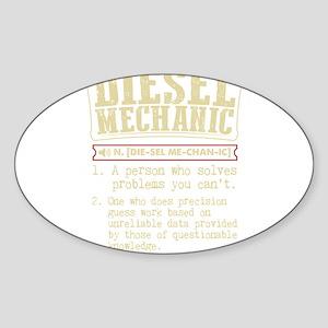Diesel Mechanic Dictionary Term T-Shirt Sticker