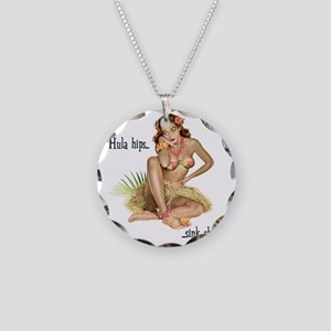 DREAMY-WAHINE Necklace Circle Charm