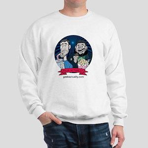 Film-Pocket-White Sweatshirt