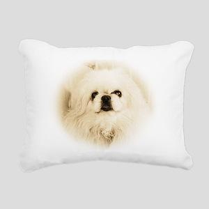 Tristan face Rectangular Canvas Pillow