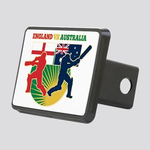 cricket sports batsman Eng Rectangular Hitch Cover