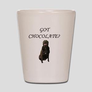 Got Chocolate Shot Glass