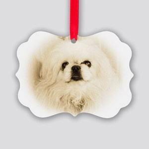 Tristan face Picture Ornament