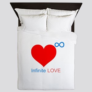 Infinite LOVE Queen Duvet
