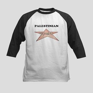 Palestinian and proud of it Kids Baseball Jersey