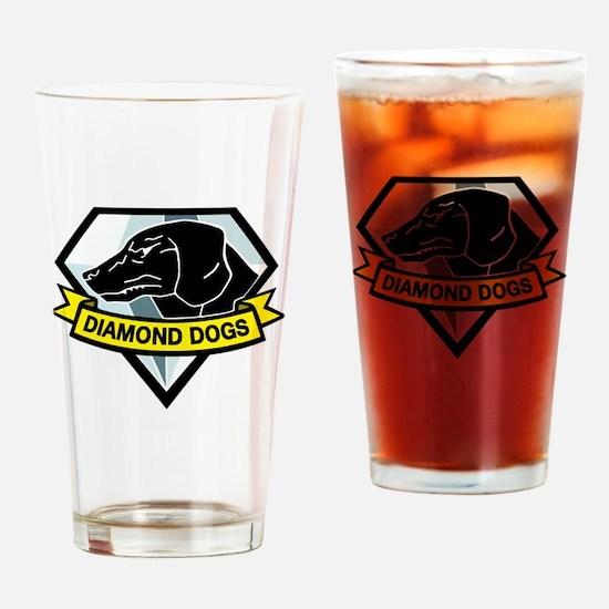 Diamond Dogs MGS Drinking Glass