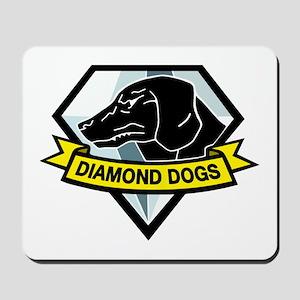Diamond Dogs MGS Mousepad