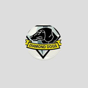 Diamond Dogs MGS Mini Button