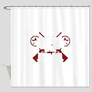 Devil Dog Shower Curtain