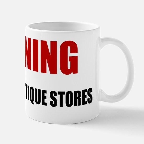 LP-warning-antique-stores Mug