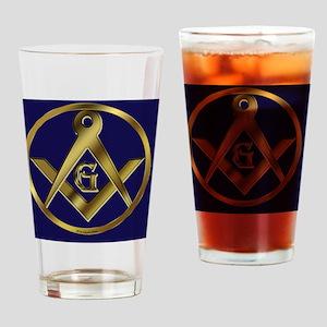 Masonic Circle License copy Drinking Glass