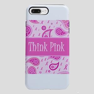 Think Pink Cutie Pink Rib iPhone 7 Plus Tough Case