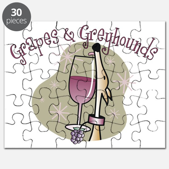 grapesgreyhoundsCAFEPRESS1 Puzzle
