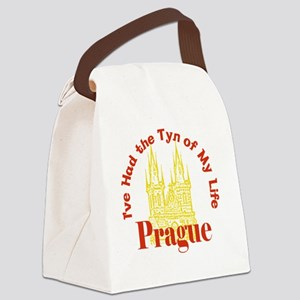Prague - I've Had the Tyn of My L Canvas Lunch Bag