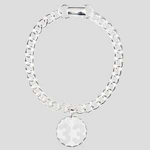 polkhigh33-W Charm Bracelet, One Charm