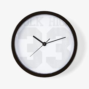 polkhigh33-W Wall Clock