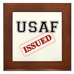 USAF Issued Framed Tile
