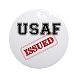 USAF Issued Ornament (Round)