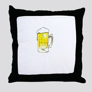 Wedding is Near - Black Throw Pillow