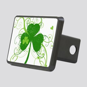 fancyshamrocknew Rectangular Hitch Cover