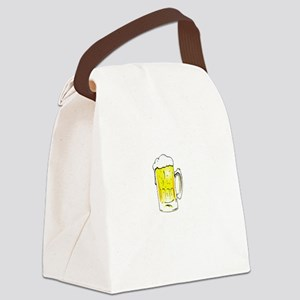 Wedding is Near - Black Canvas Lunch Bag