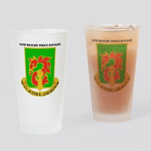 DUI-504TH MILITARY PLC BN  WITH TEX Drinking Glass