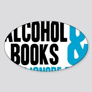 alchybooks Sticker (Oval)