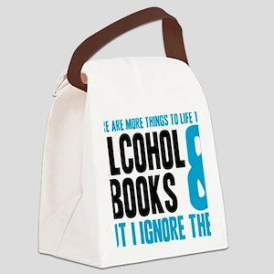 alchybooks Canvas Lunch Bag