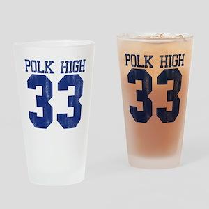 polkHigh33-B Drinking Glass