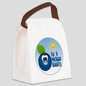 MI-Blueberry-C10trans Canvas Lunch Bag