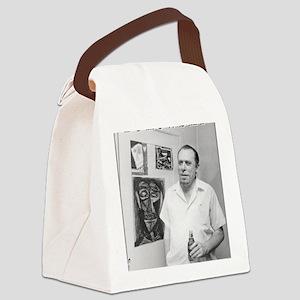 samcherry_buk_withbeer_media Canvas Lunch Bag