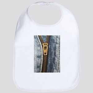 Cute Bib with Zipper Graphic