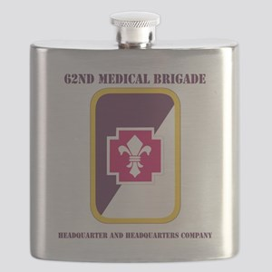DUI-62ND MED BDE HQ AND HQ COY Flask