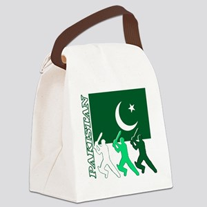 cricket pak Canvas Lunch Bag