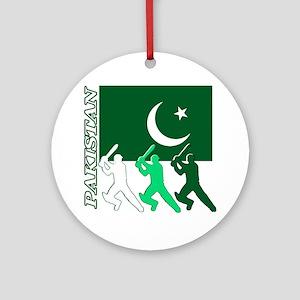 cricket pak Round Ornament