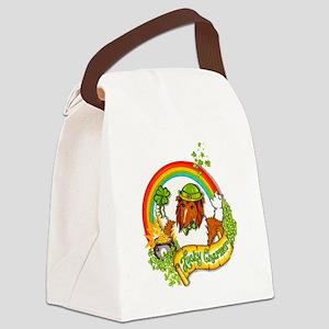 Sable Lucky Charm Canvas Lunch Bag