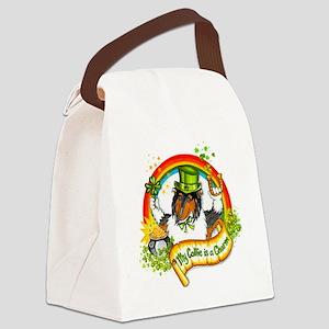 Tri Lucky Charm Canvas Lunch Bag
